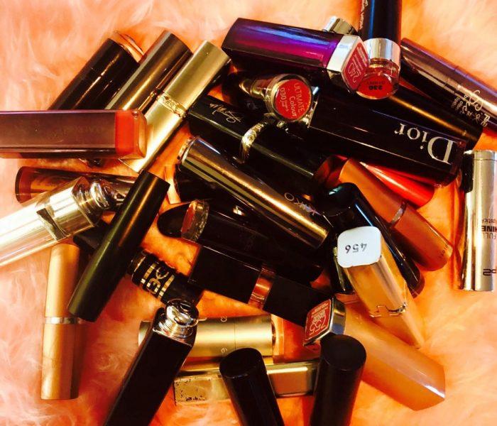 Niemals oben ohne – meine Lippenstifte und ich