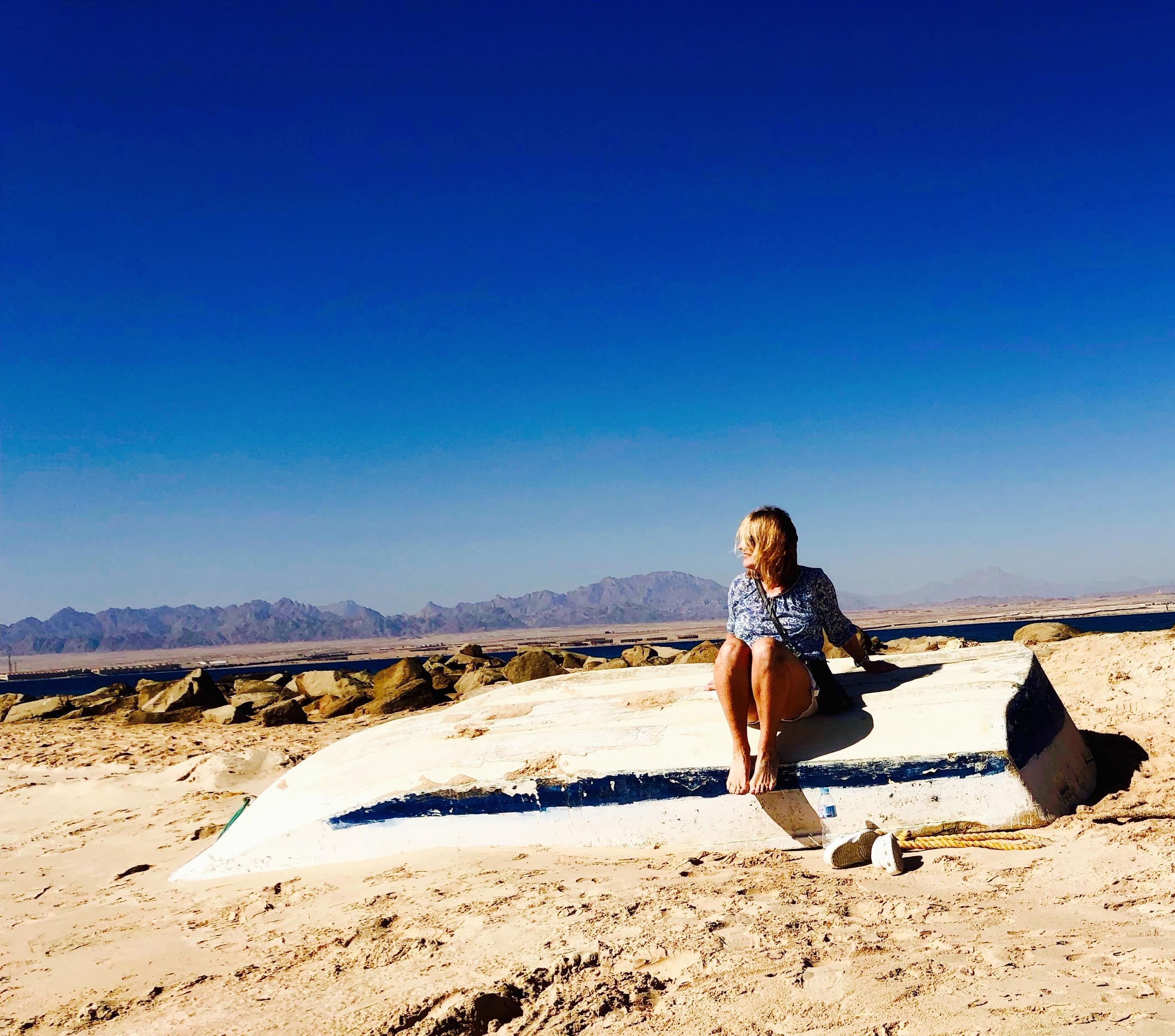 Hauptsache weiss – Sand statt Schnee