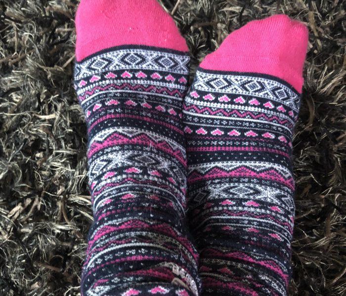 Bunte Socken oder die gewonnene Lebenszeit